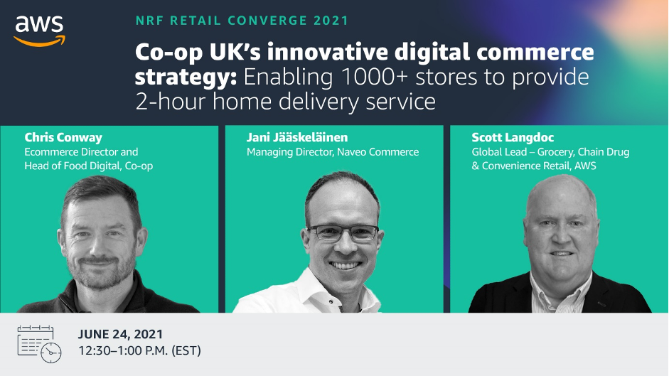 NRF Retail Converge 2021 - Co-op UK's innovative digital commerce strategy