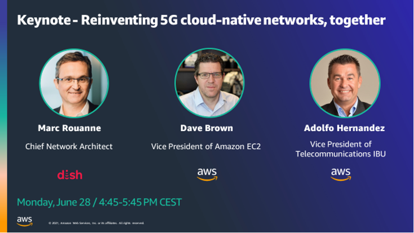 AWS MWC reinventing 5G cloud-native networks, together