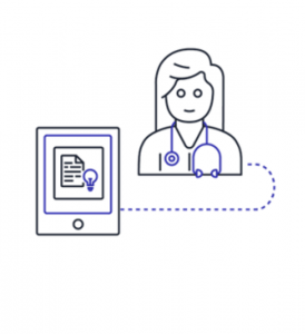 Healthcare solutions icon