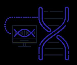 Genomics solutions icon