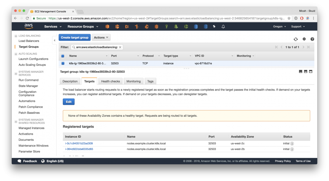 Network Load Balancer Support in Kubernetes 1 9 | AWS Open Source Blog