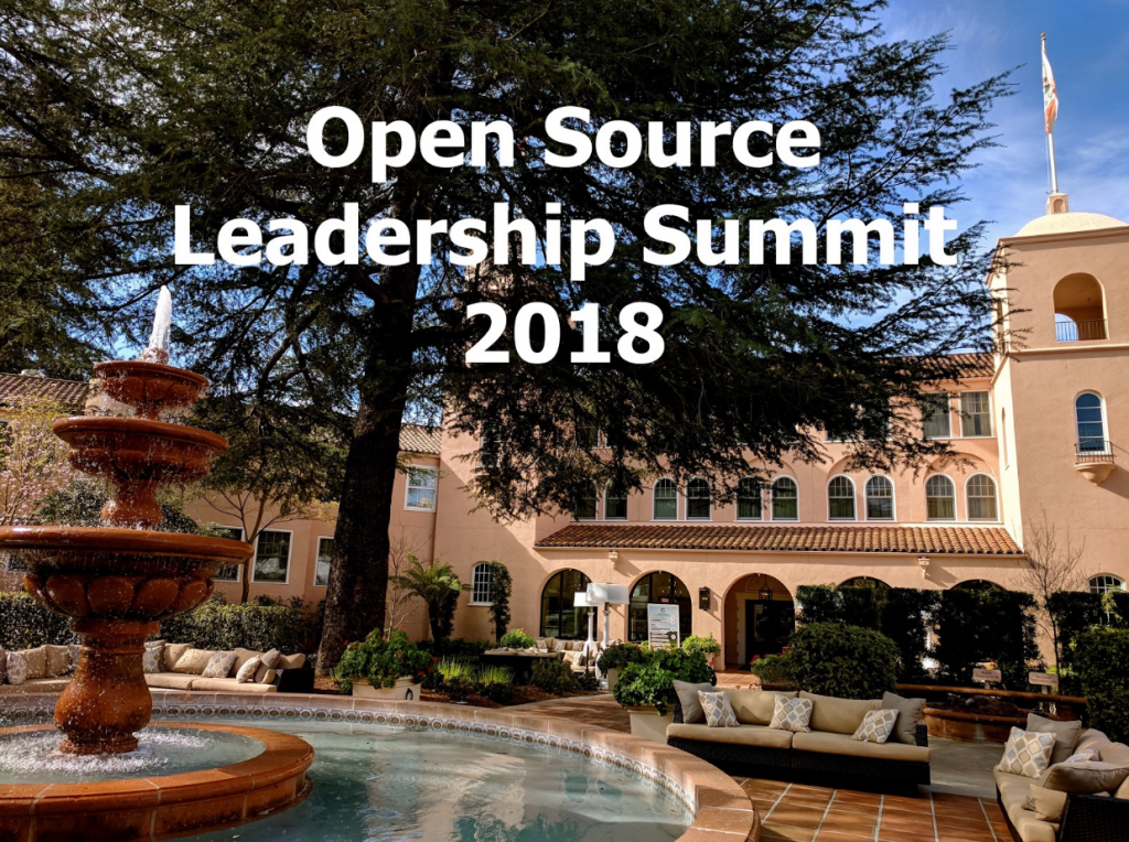 Open Source Leadership Summit 2018 Sonoma