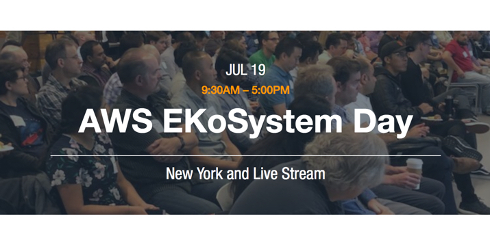 AWS EKoSystem Day New York