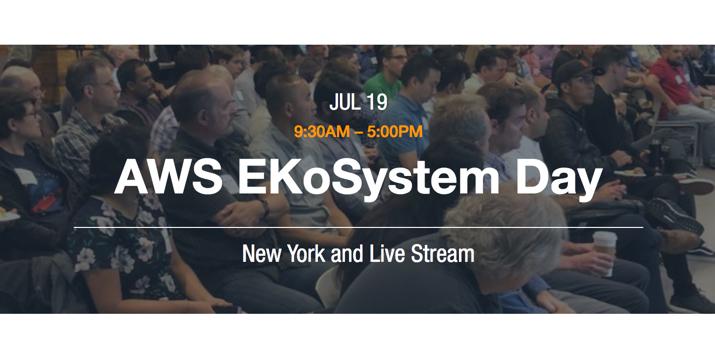 AWS EKoSystem Day New York