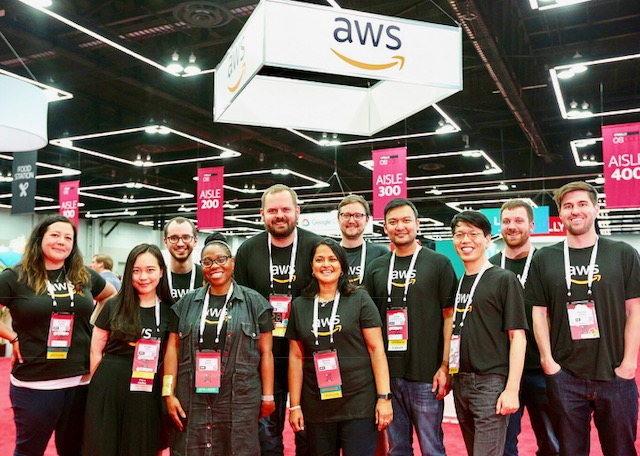 AWS at OSCON 2018