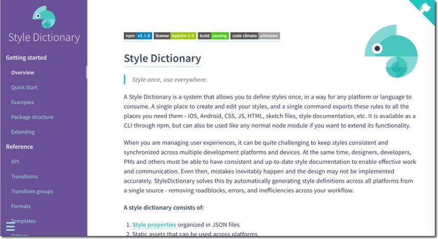 Style Dictionary documentation
