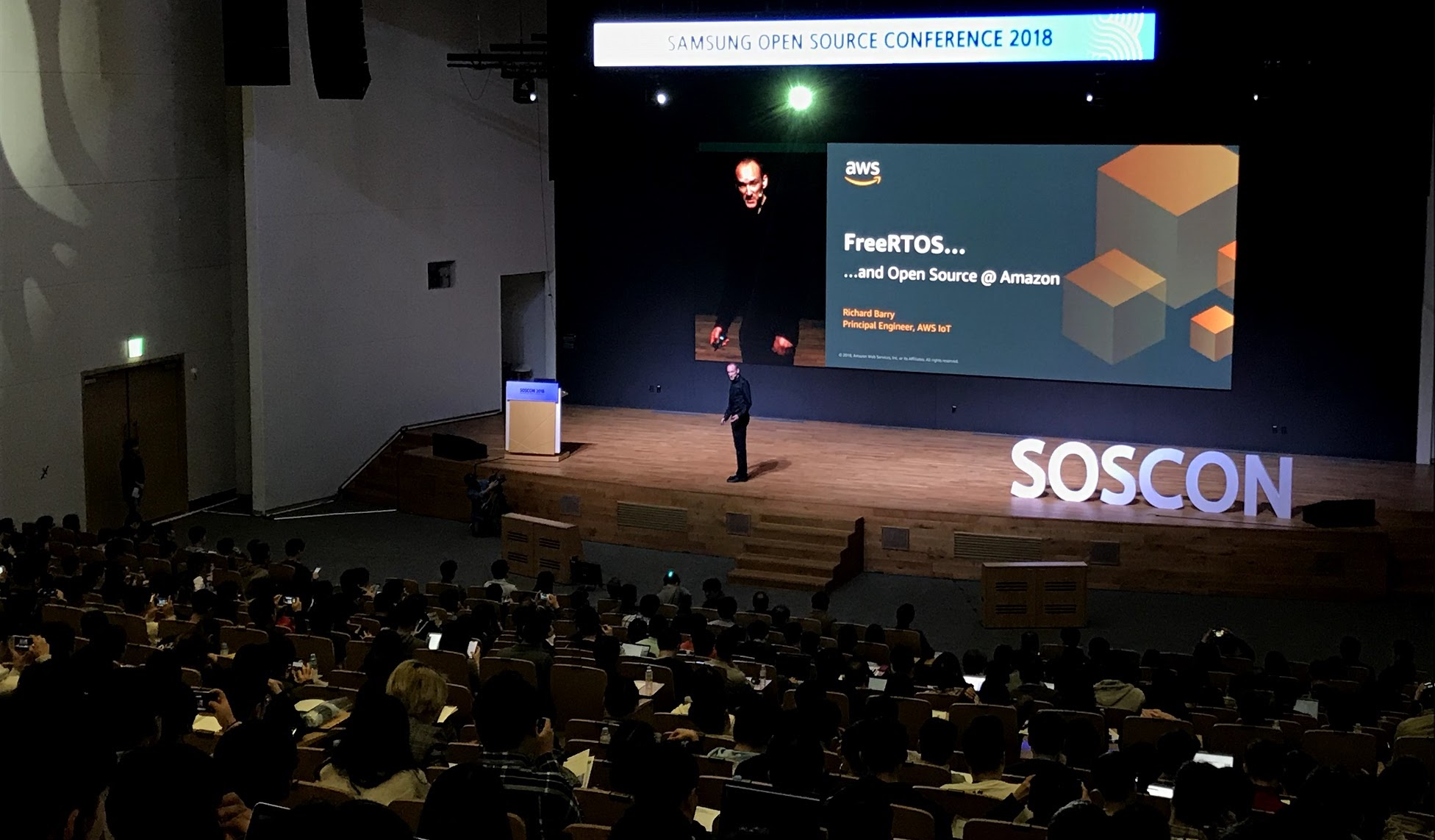 AWS at the Samsung Open Source Conference | AWS Open Source Blog