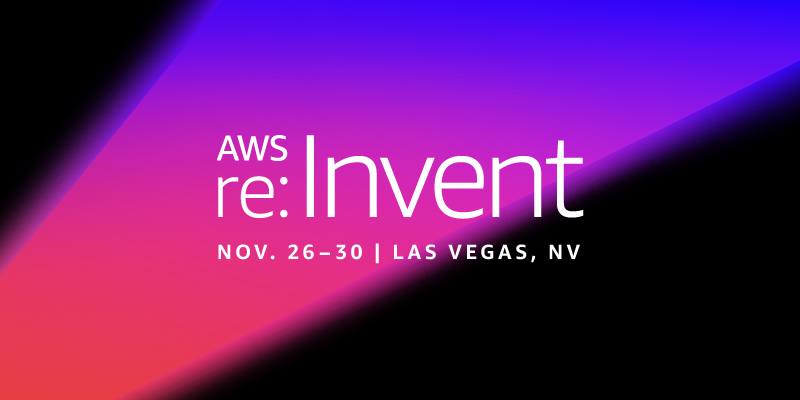 AWS re:Invent 2018 header