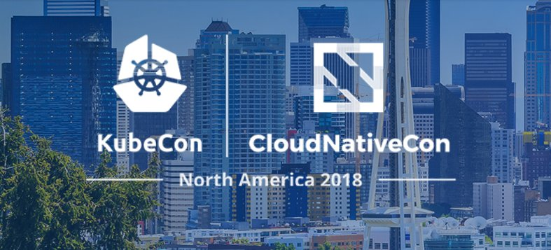 KubeCon+CloudNativeCon Seattle 2018 logo
