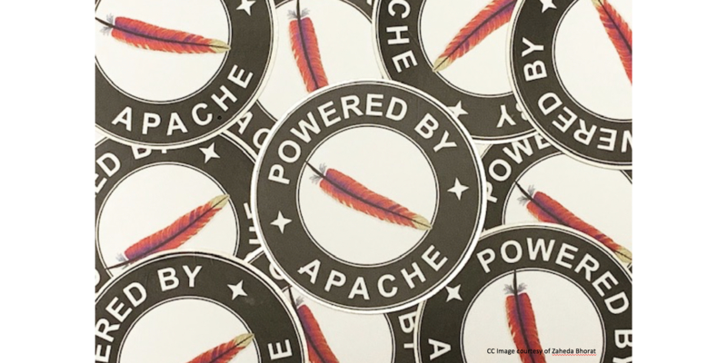 Apache feather logo.