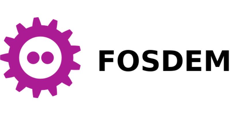 FOSDEM logo.