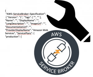 AWS Service Broker 徽标。