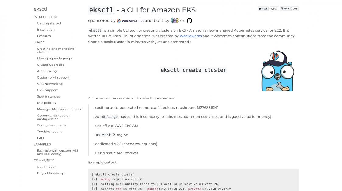 eksctl – the EKS CLI | AWS Open Source Blog