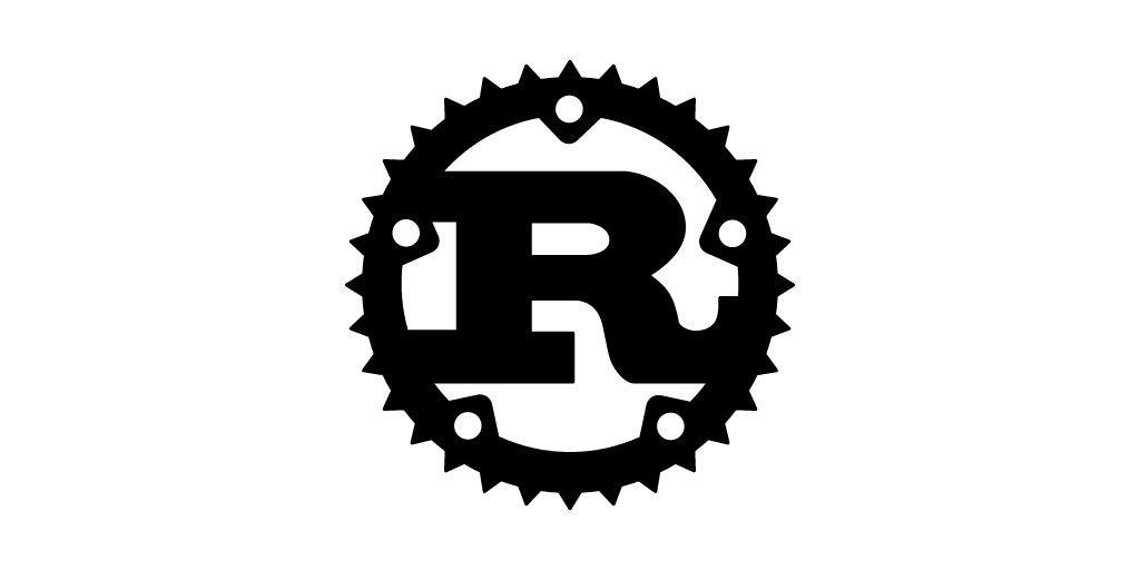 Rust language logo.