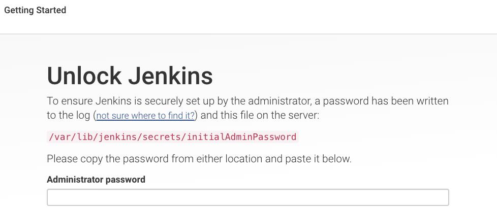 Jenkins 管理员页面
