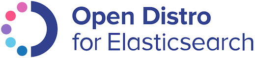 Open Distro for Elasticsearch 徽标。
