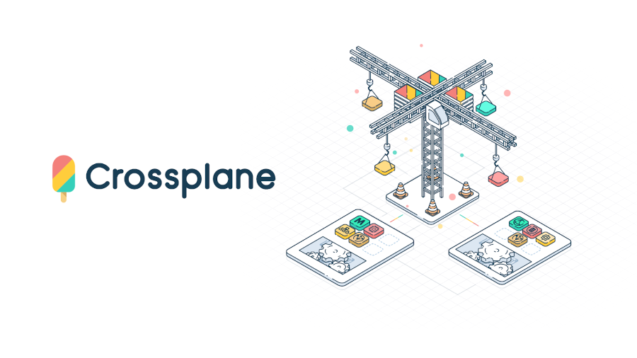 crossplane logo and illustration