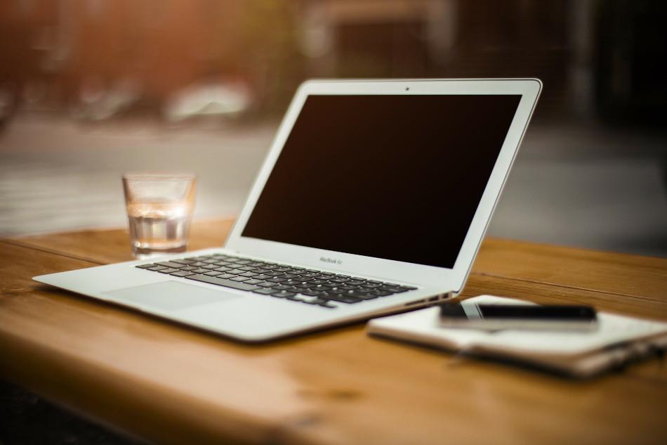 Laptop photo image via Pixabay https://pixabay.com/photos/home-office-workstation-office-336373/