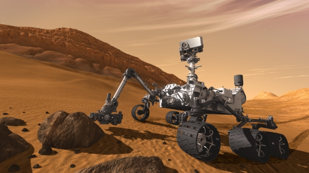 JPL NASA Open Source Mars Rover