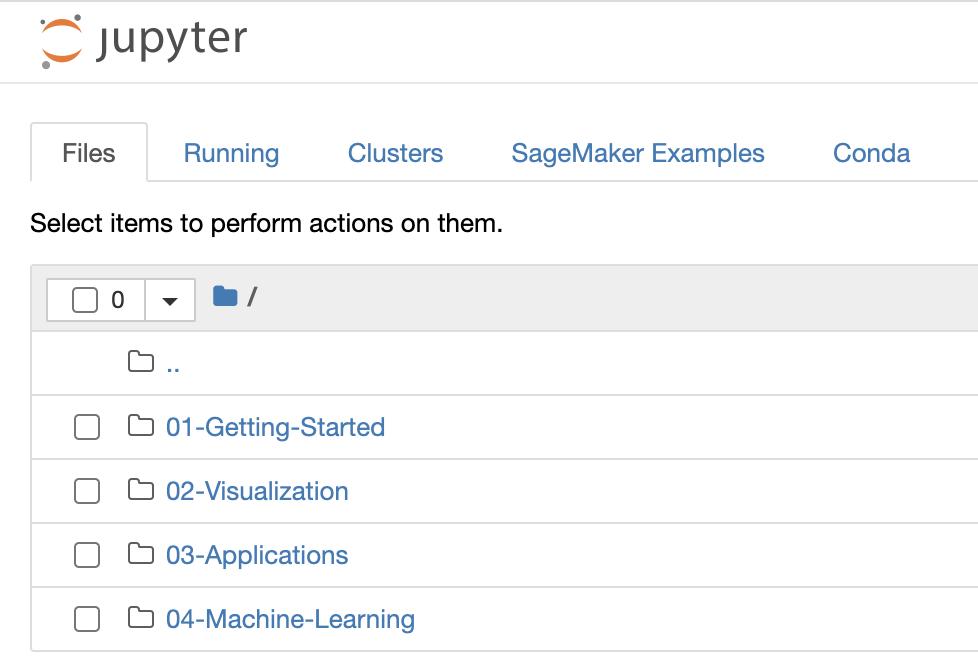 Screenshot showing Gettng Started folder