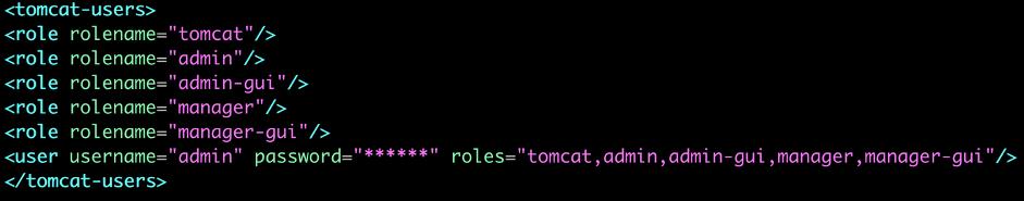 Figure 2: Update tomcat-use.xml.