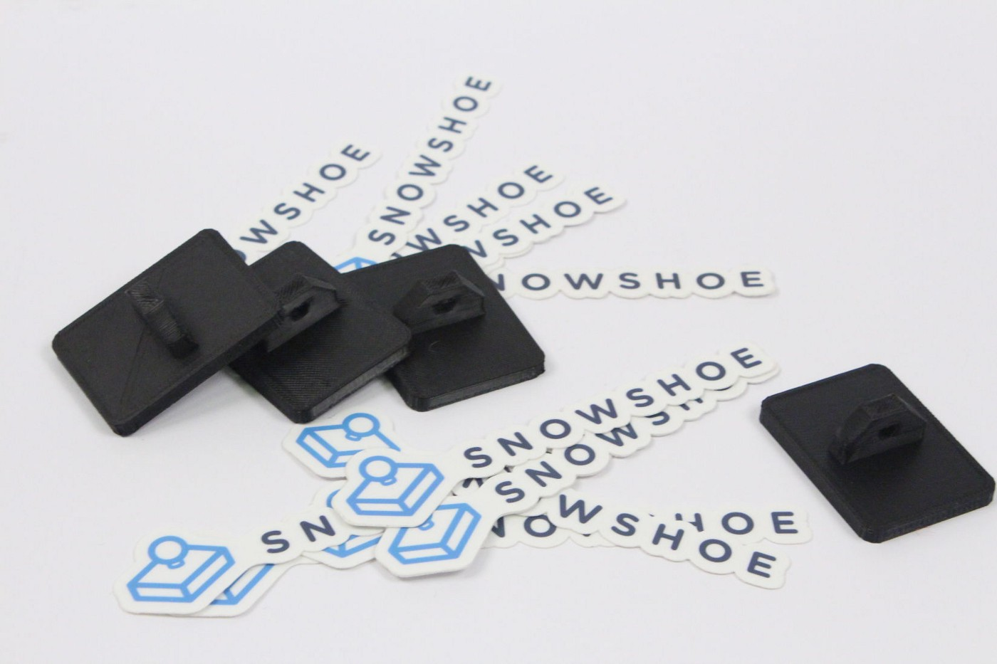 Snowshoe hardware stamps