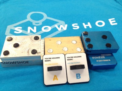Snowshoe different stamp versions