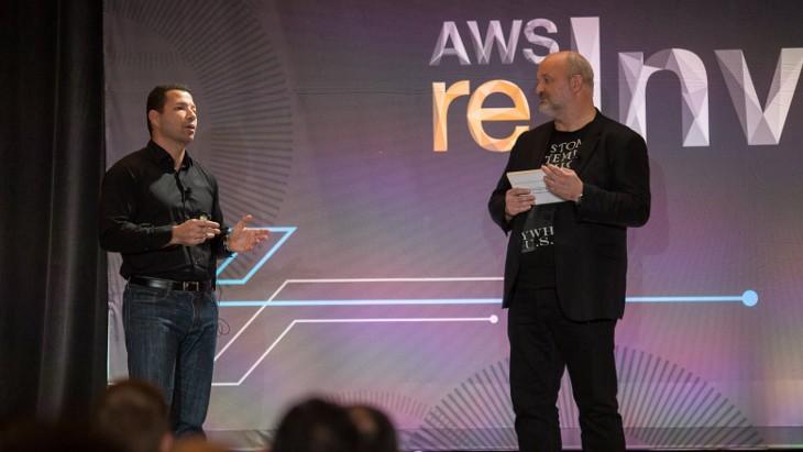 Werner Vogels speaking at AWS reInvent 2015