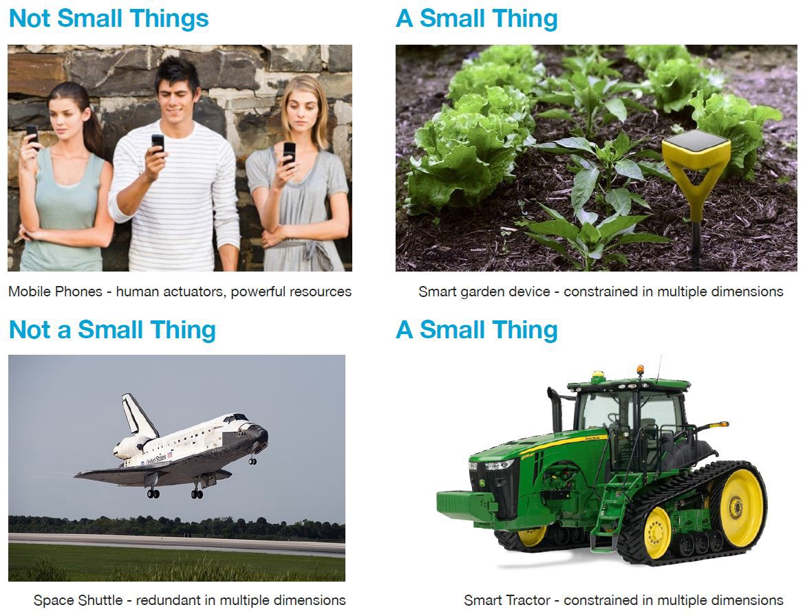Examples of small things related to IoT