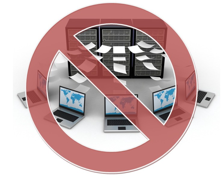 centralized data backup should not be promoted