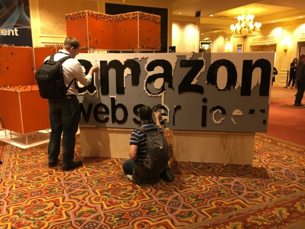 Lego reception AWS reInvent 2016