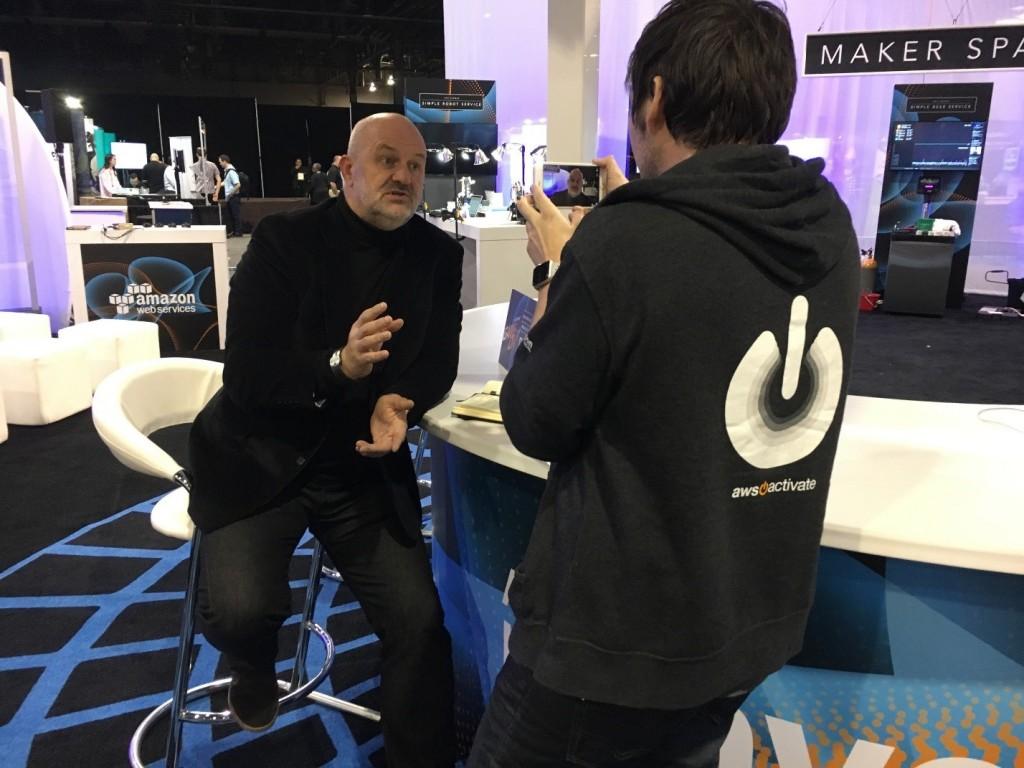 Werner Vogels Dev Lounge AWS reInvent 2016