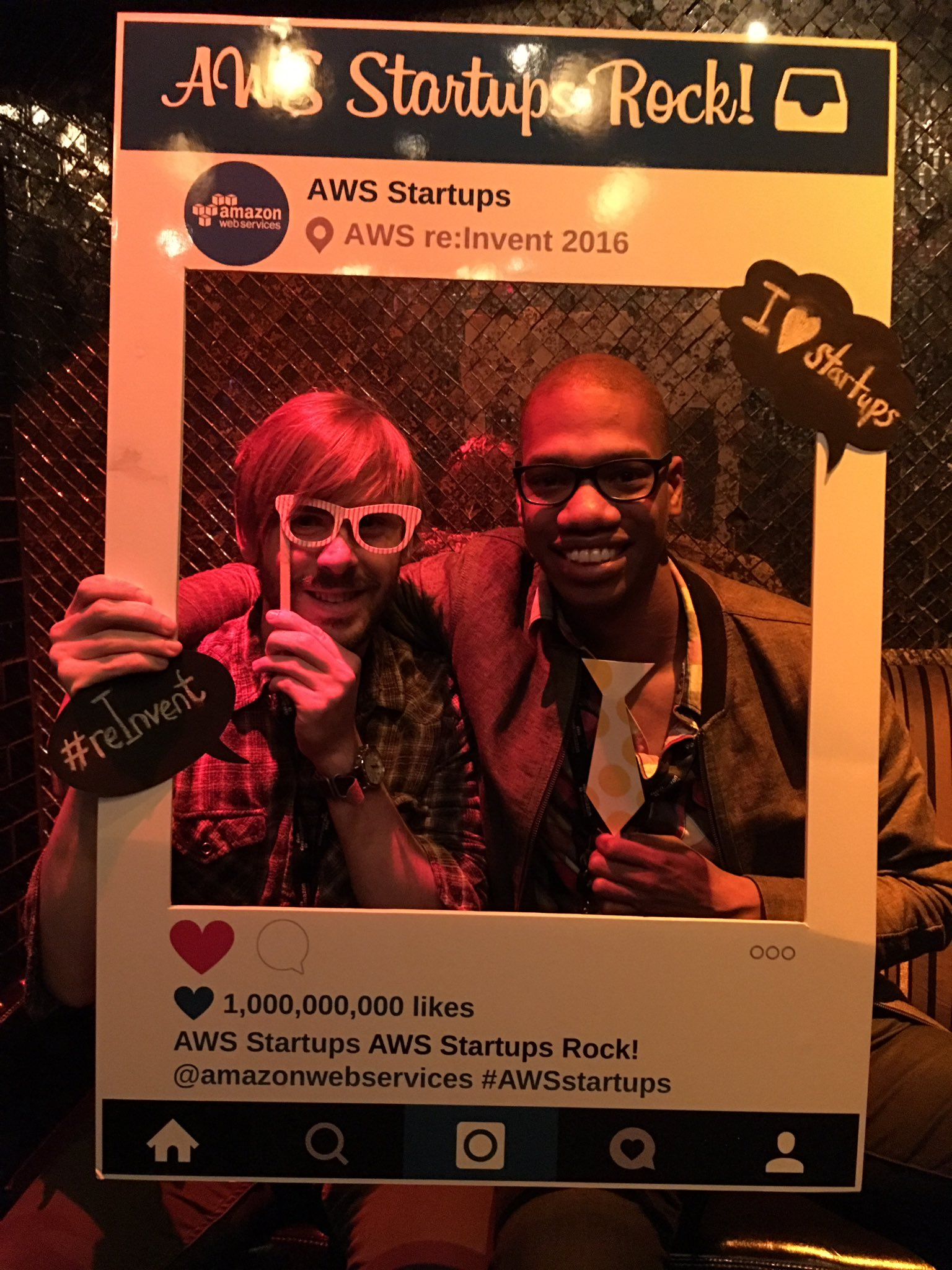 AWS Startups Mobile Photobooth reInvent 2016