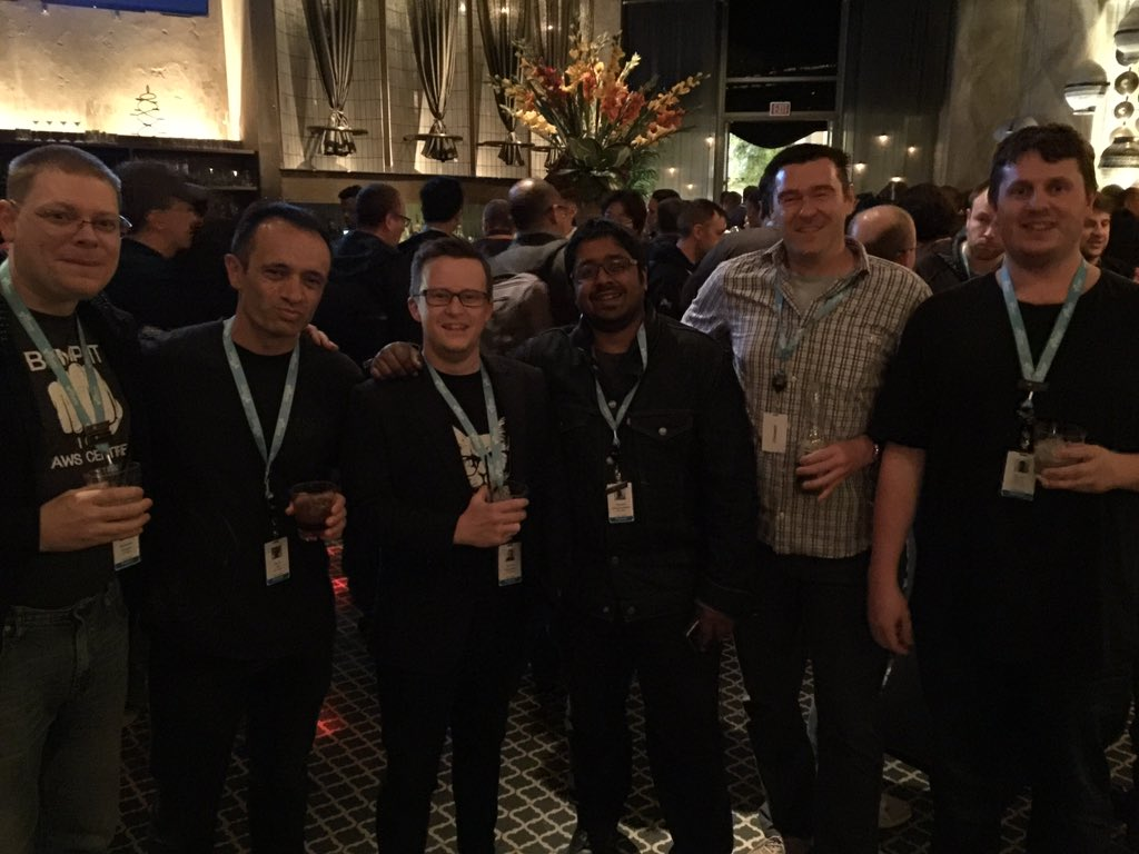 AWS Certification Appreciation reception reInvent