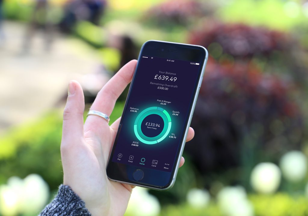 Starling Bank Pulse screen