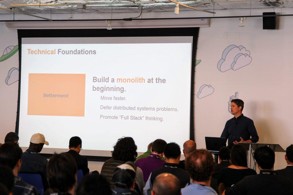 entrepreneurs at AWS Startup Day