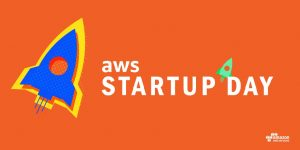 A logo for AWS Startup Day