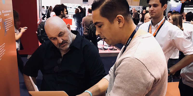 Werner Vogels speaks at WebSummit