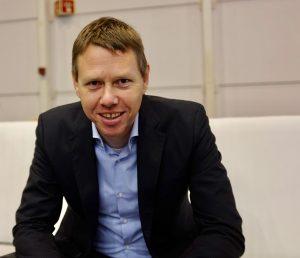 Jeroen Bouwman, the CEO of marketing startup Get Social.