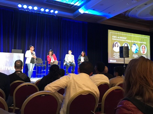 Diversity Panel at AWS reInvent