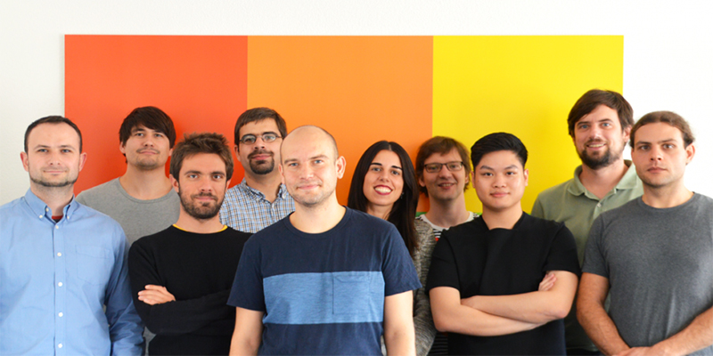 The Smallpdf team at their offices in Zurich, Switzerland.