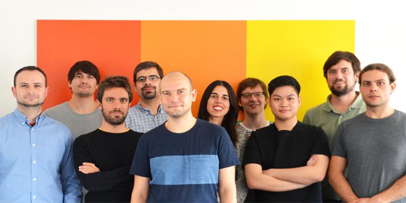 The Smallpdf team at their offices in Zurich, Switzerland.