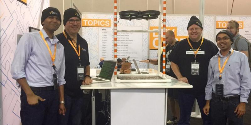 simple drone service team