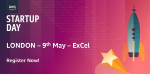 AWS Startup Day Event Registration banner