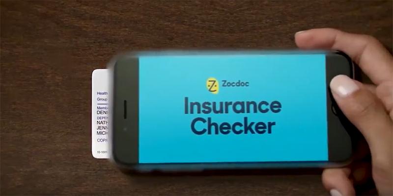 Zocdoc insurance Checker