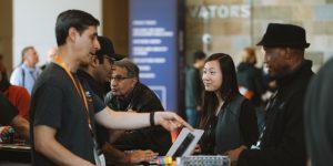 サンフランシスコ Summit の Startup Central で AWS が開催した「Ask an Architect Bar」