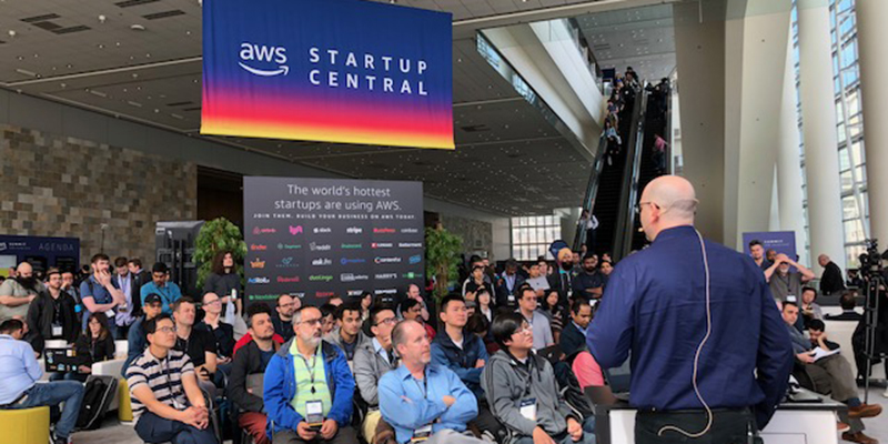 Startup Central at the AWS Summit