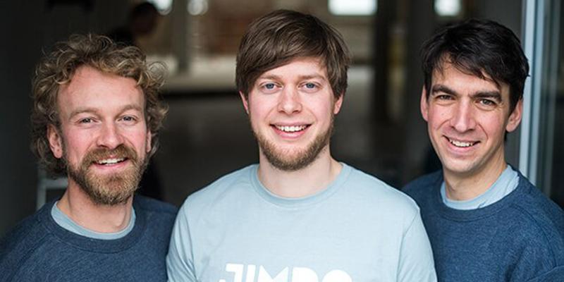 Fridtjof Detzner, Christian Springub & Matthias Henze of Jimdo