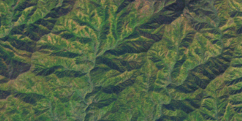 Mapbox Satellite View Tennessee