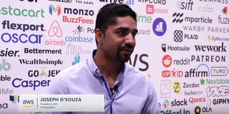 Modernizing Communication with Insurance Tech Startup ProNavigator CEO Joseph D'Souza